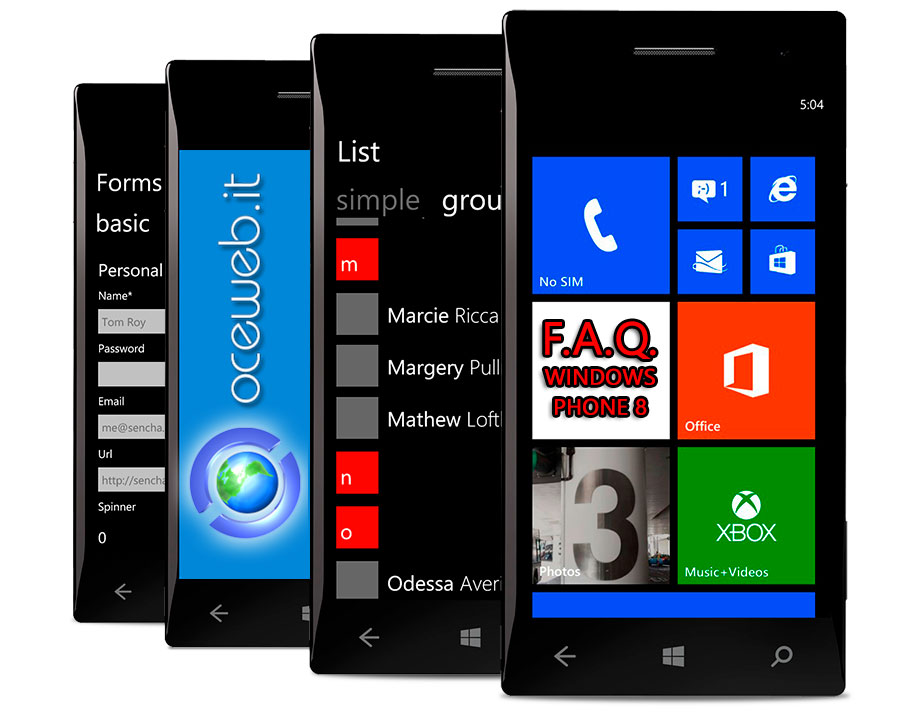 F.A.Q. Windows Phone 8