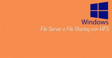 File server e file sharing con HFS