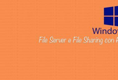 File server e file sharing con HFS